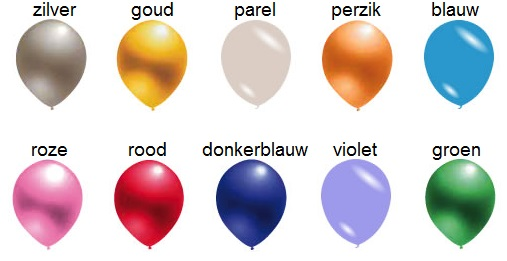 goedkope ballonnen metallic