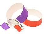 identificatie festival armbandjes