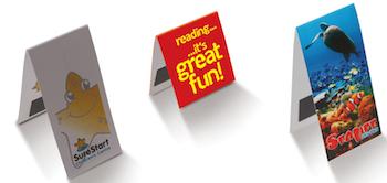 Rectangle-folding-magnetic-bookmarks
