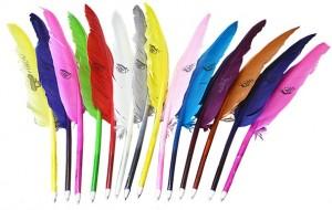 veerpennen in alle kleuren