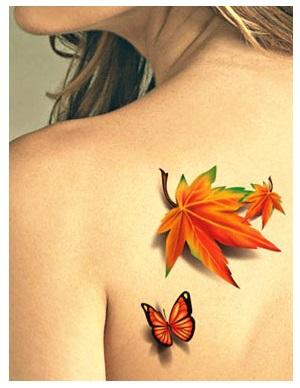 3D plak tattoos bestellen